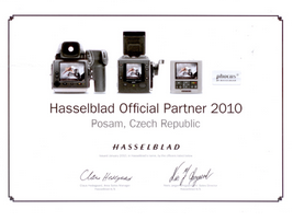 Hasselblad Official Partner 2010